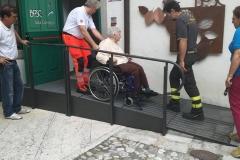 Esercitazione con persone disabili 3