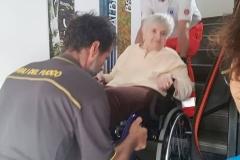 Esercitazione con persone disabili 4